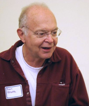 Donald Knuth (photo by Jacob Appelbaum)