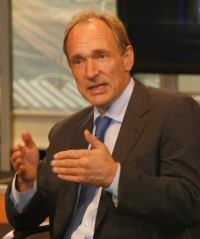 Tim Berners-Lee (photo by John S. and James L. Knight Foundation)