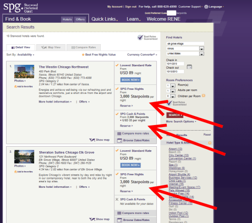 spg hotels near chicago seminars delta points blog