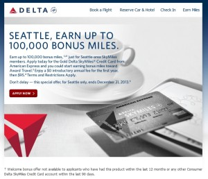 100000 delta amex card offer
