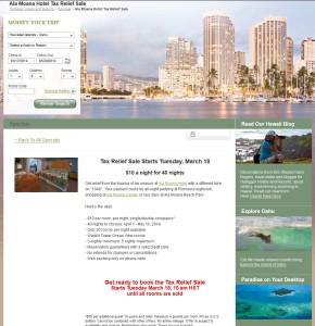 10 night hawaii rooms