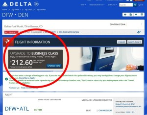 delta want to upsell me biz for 213 no thanks no way