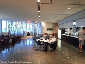 toronto air canada maple leaf lounge yyz delta points blog (7)