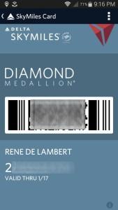 my correct medallion status ends 1FEB17 rene delta points blog