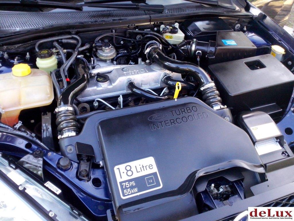 Ford Focus – pranje motora