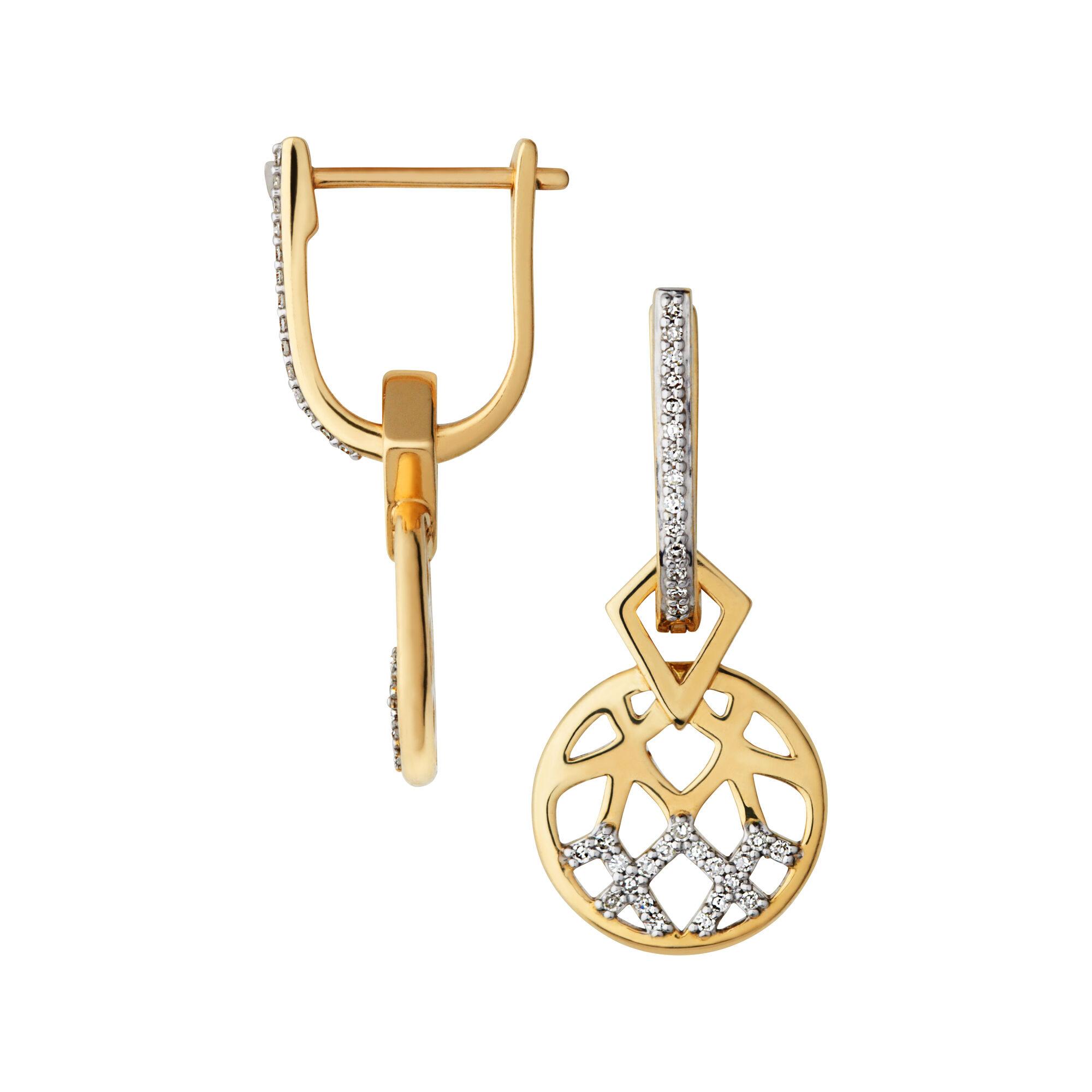 Fullsize Of Diamond Drop Earrings
