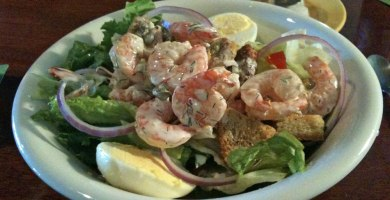 Shrimp Salad with Citrus Dill dressing