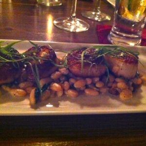 Fig's Seared Scallops