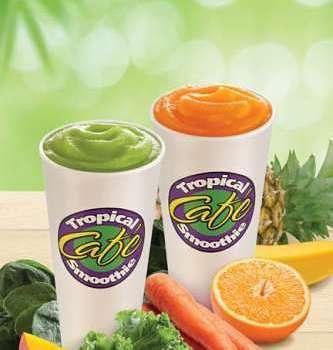 Tropical Smoothie Veggie Smoothies