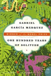 Discussing this month: One Hundred Years of Solitude by Gabriel Garcia Marquez