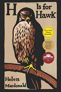 Reading for next month: H is for Hawk by Helen Macdonald