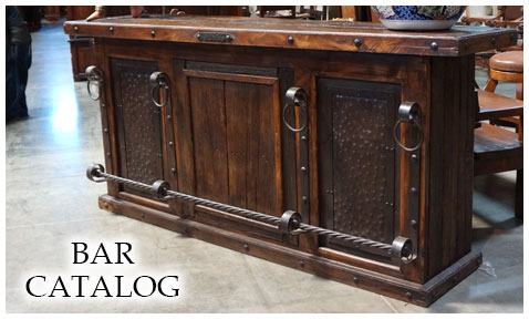 rustic spanish furniture colonial mesquite mexican image
