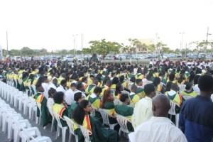 University of Guyana graduates in 2015.