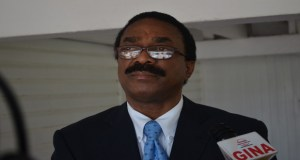 Minister of Legal Affairs, Basil Williams