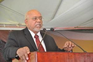 ex-President Donald Ramotar