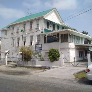 The headquarters of the National Industrial and Commercial Investments Limited (NICIL), Barrack Street, Kingston, Georgetown.