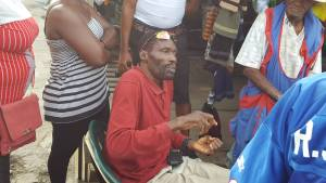 President of the Guyana Market Vendors Union, Eon Andrews.