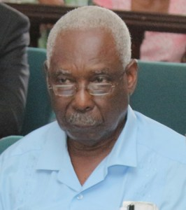PNCR General Secretary, Oscar Clarke.