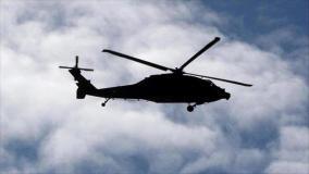 إسقاط هليكوبتر عسكرية روسية من قبل مسلحين قرب تدمر السورية