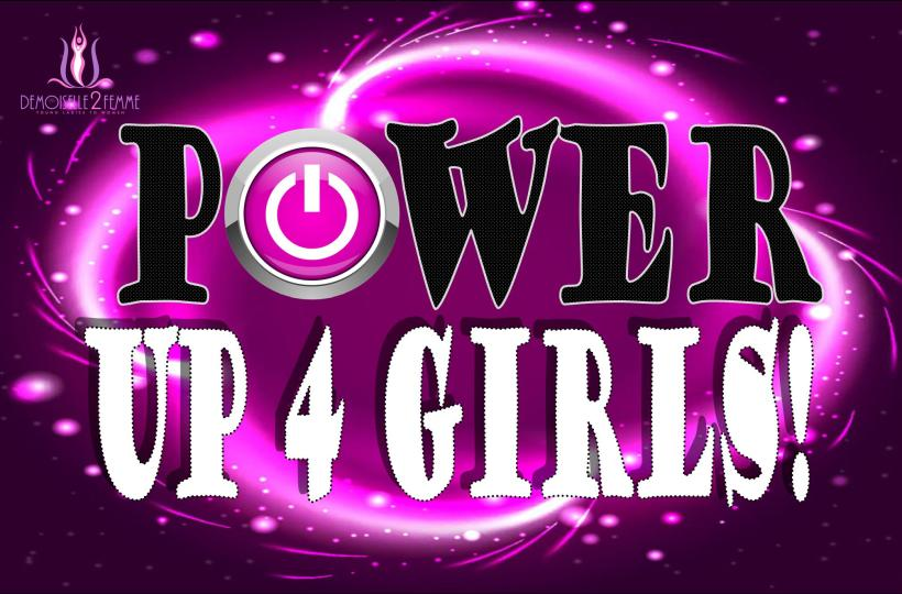 Power Up For Girls- No Bottom Text