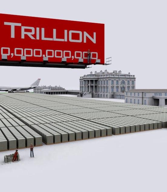 Demonocracy.info - $1,000,000,000,000 - One Trillion Dollars