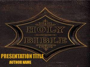 Importance Of Bible PowerPoint Template1