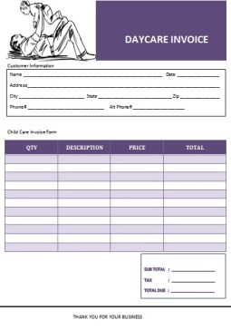 DAY CARE TEMPLATE 14