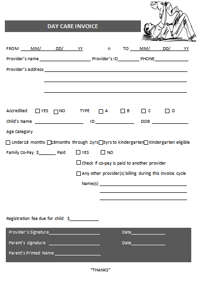 day care template-1