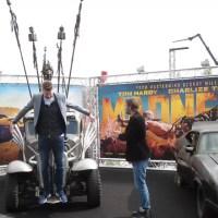 DJs Coen & Sander rijden in auto's uit Mad Max: Fury Road
