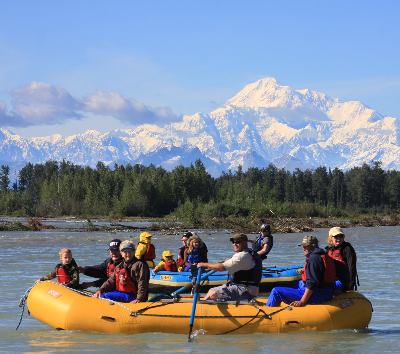 rafting float trips Alaska Denali Southside River Guides