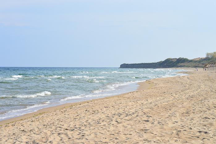 Denina Martin at Nessebar Beach