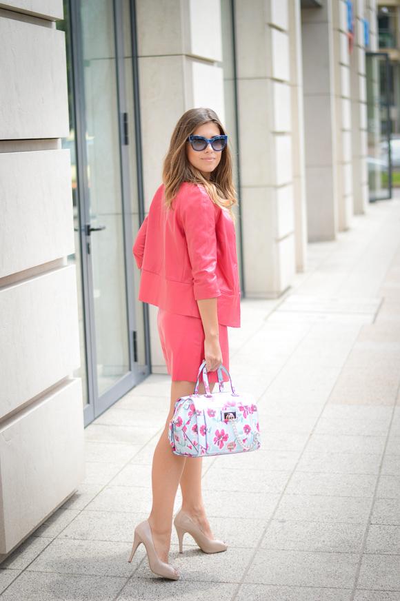 Fuchsia Skort Co-ord by Liu Jo  from Bulgaria Mall styled by Denina Martin