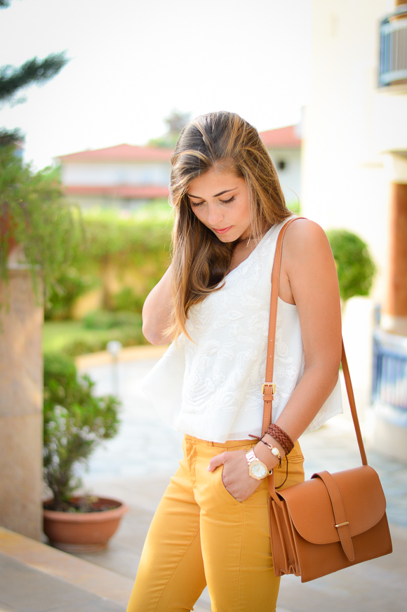 Greece-sunset-mustard-pants-denina-martin-7