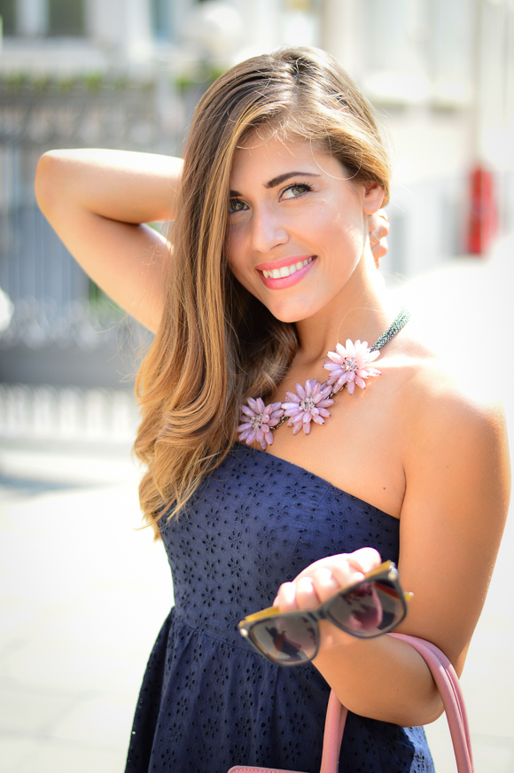 Being Happy Never Goes out of Style - Denina Martin wearing Necklace from Happiness Boutique