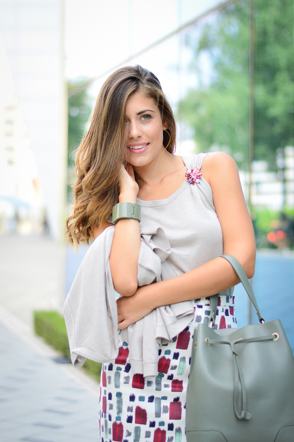 Bulgarian Fashion Blogger Denina Martin wearing Max Mara by MDL, Bulgaria Mall