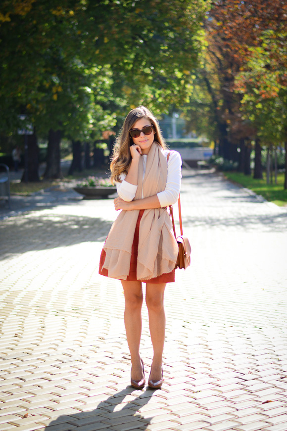 Burned-Orange-HM-Skirt-Autmn-Look-Denina-Martin-2