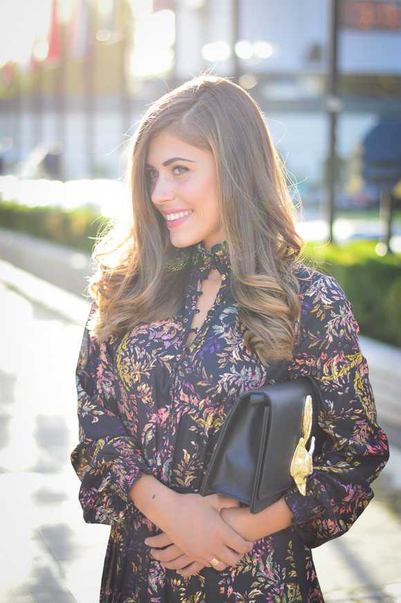Sofia-Fashion-Week-Day1-HM-Dress-Fox-Clutch-Denina-Martin-2