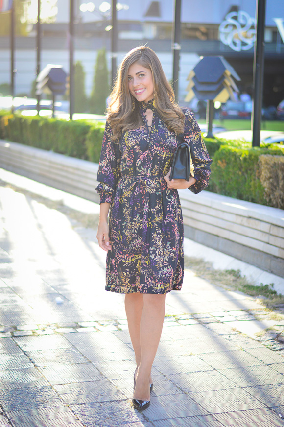 Sofia-Fashion-Week-Day1-HM-Dress-Fox-Clutch-Denina-Martin-4