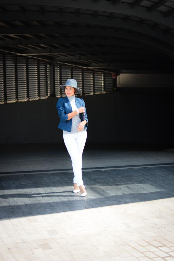 White-Jeans-and-Grey-Fedora-Denina-Martin-4