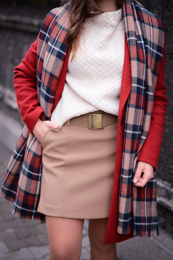Winter-Red-Coat-Plaid-Scarf-Suede-Boots-Denina-Martin-8