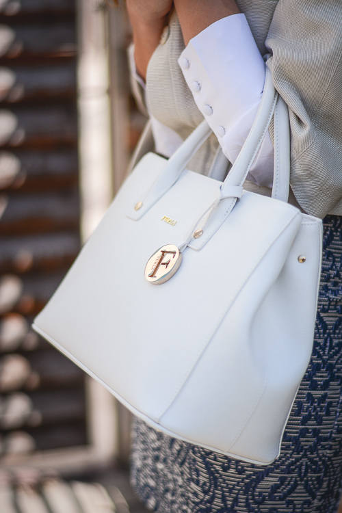 Benetton Lady Chic Work Style Blog Outfit Furla MDL