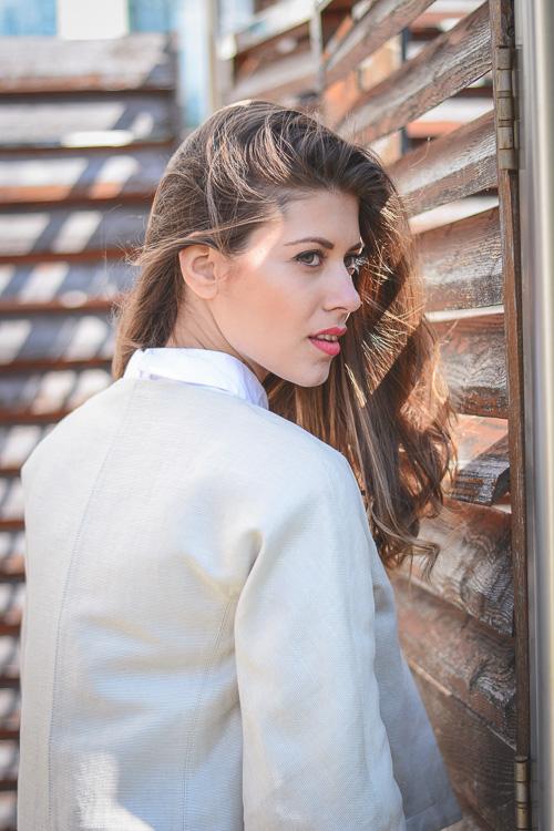 How to wear neutrals by European Fashion Blogger Denina Martin