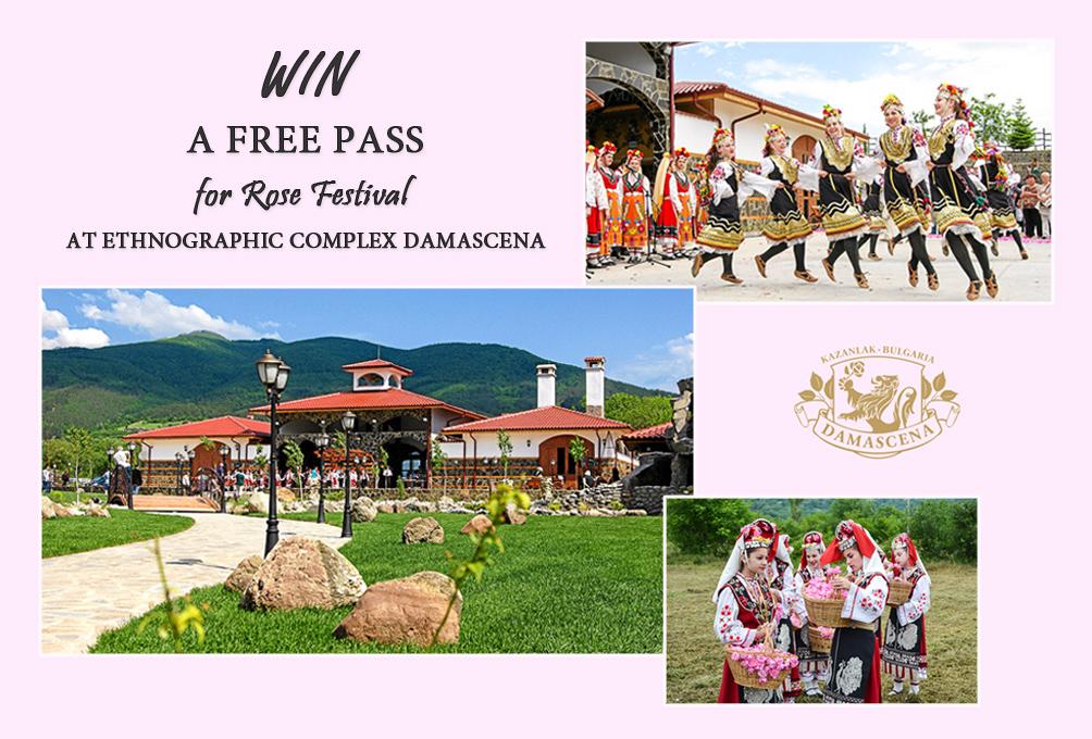 DAMASCENA WIN A FREE PASS ROSE FESTIVAL DENINA MARTIN