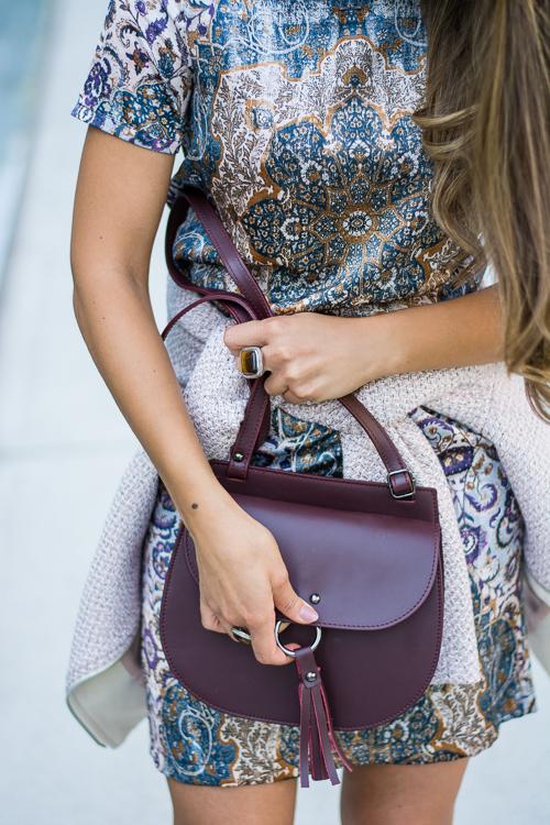 Esprit Mid Dress and Crossbody bag