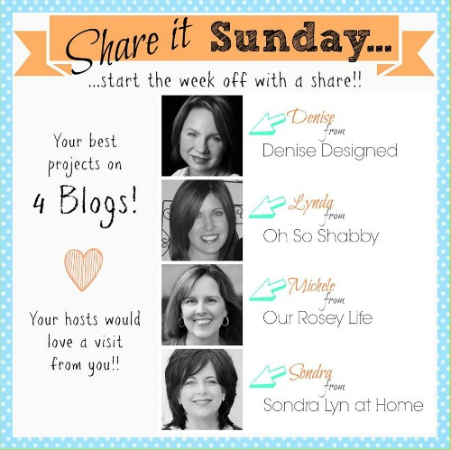 Share It Sunday Blogs 500