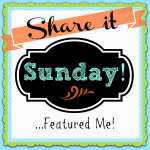 Share it Sunday Featured Me 150