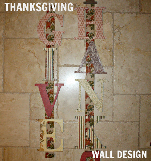 Tday lettered wall design feature 500