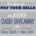 cashgiveaway 150x150 Last Day to Enter Two Giveaways