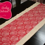 christmas burlap runner feature 2 150x150 Christmas Tablescape