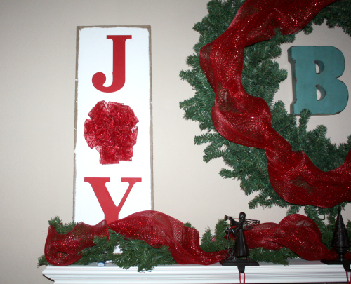 christmas home joy Christmas Mantel Decor